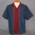 Bowling Shirt - Blue and Red