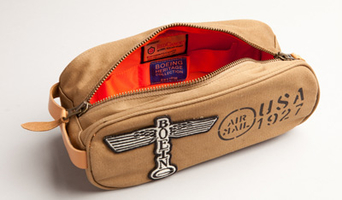 Boeing Toiletry Bag Inside