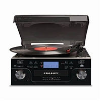 Crosley Tech Turntable CR6008A-BK