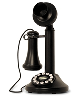 Crosley - Candlestick Phone - Black