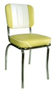 939 CBWF Chair, Baron Yellow with White Insert