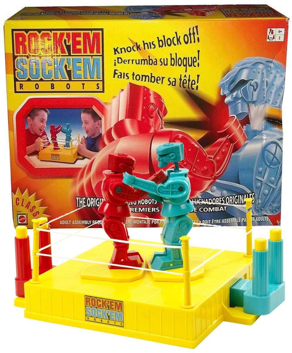 Old Fashioned Rockem Sockem Robots