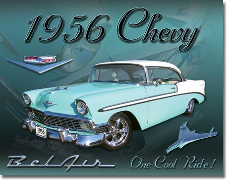 1607 - Chevy 1956 Bel Air