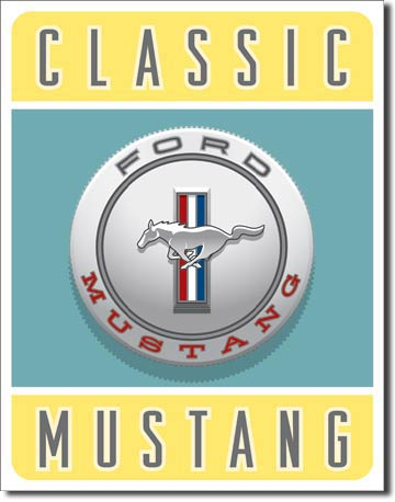 1122 - Classic Mustang