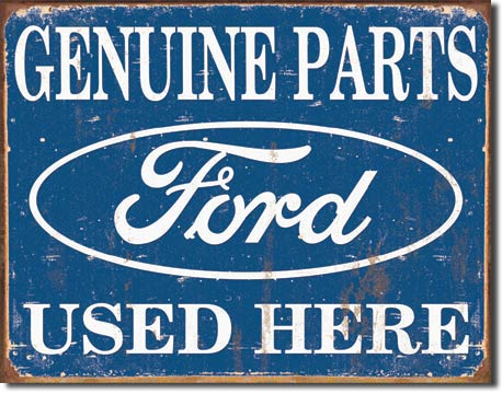 1422 - Ford Parts Used Here