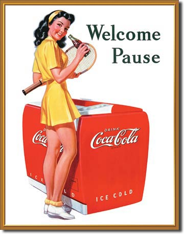 Coca Cola Welcome Pause