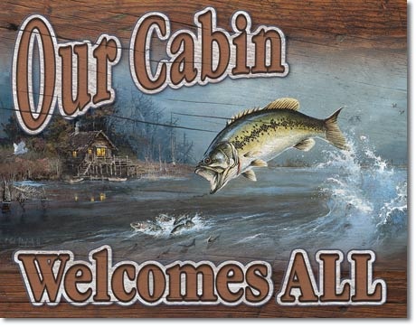 1667 - Our Cabin Welcomes All