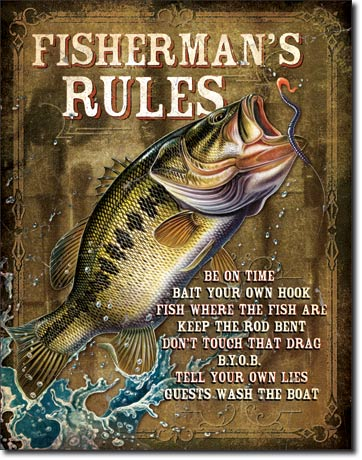 1870 - Fisherman's Rules