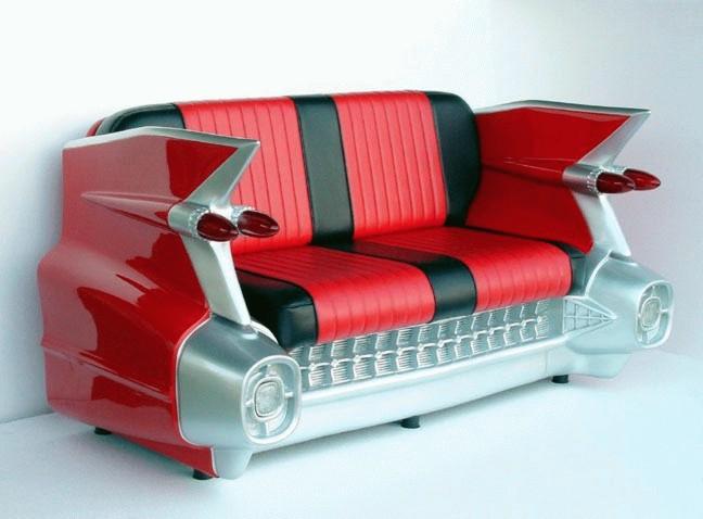 мебель в виде машины